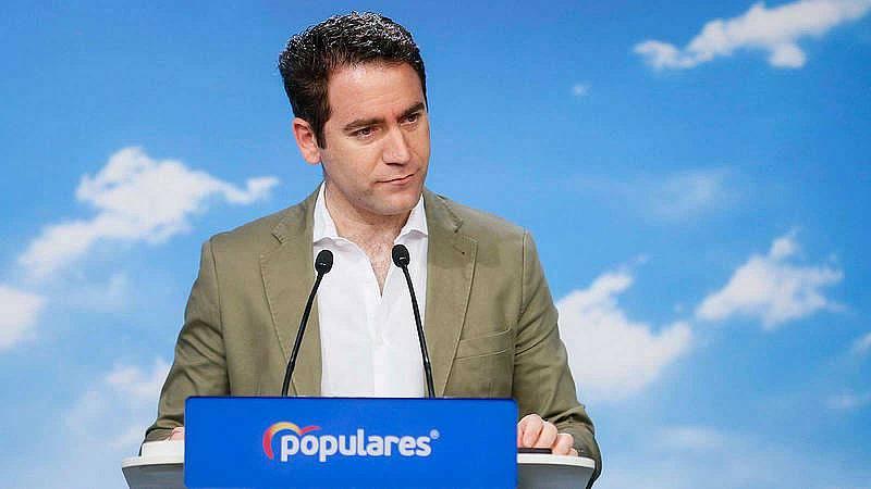 """García Egea (PP) critica la """"mano de hierro"""" del Gobierno """"para fulminar a quien le estorbe en sus planes totalitarios"""""""