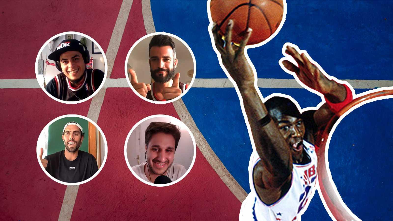 Playztrends - 'The last dance' de Michael Jordan con David Sainz, Pablo Ibarburu, Javier Beirán y Antonio Velázquez