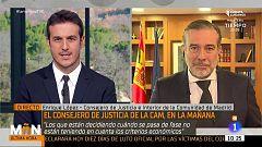 Enrique López: ''A Pérez de los Cobos se le ha cesado por desconfianza política''