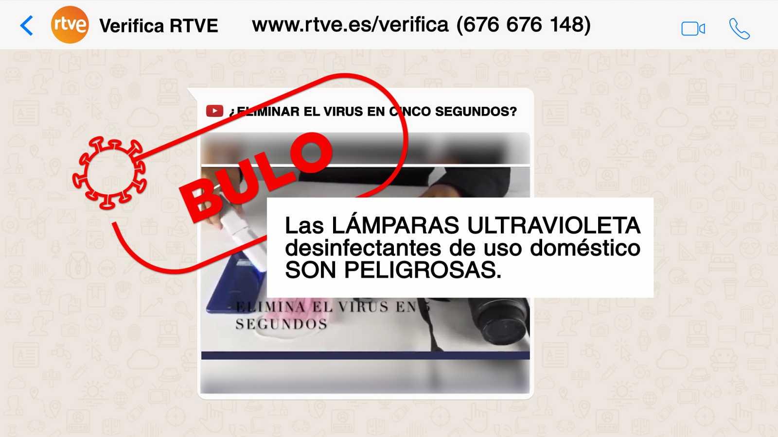 ¿Se puede eliminar el coronavirus con lámparas ultravioleta?