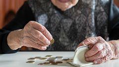 Las muertes por coronavirus reflejan una caída en el gasto de las pensiones
