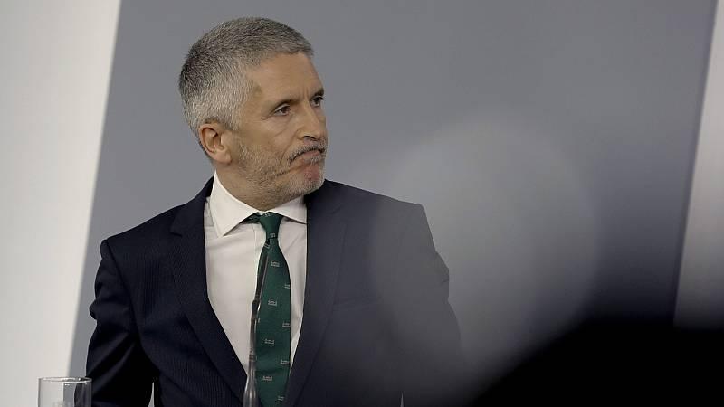 Marlaska desvincula el cese de Pérez de los Cobos del informe de la Guardia Civil sobre el 8M