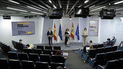 Especial informativo - Comparecencia de la ministra portavoz, ministro de Interior, y ministra de Industria - 26/05/20