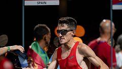 Dani Mateo, maratoniano en Tokio y criador de cerdos en Soria