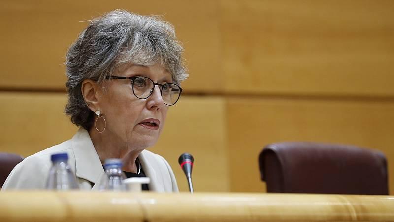 Rosa María Mateo defiende que RTVE no ha ocultado ninguna información ante las críticas de PP y Vox en el Senado