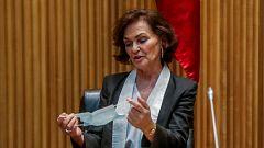 """Calvo asegura que el Gobierno se plantea una """"última"""" prórroga del estado de alarma """"si hay mayoría suficiente"""""""