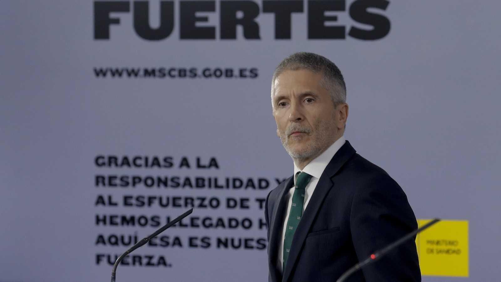 Marlaska desvincula el cese de Pérez de los Cobos del informe sobre el 8M y el coronavirus