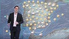 Cielo despejado con temperaturas en ascenso y fuerte viento en Galicia y Andalucía