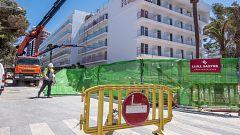 Trabajadores de hotel en las colas del hambre de Mallorca