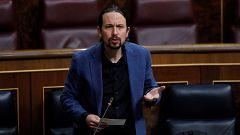 """Iglesias, a Egea: """"¿Está llamando a las fuerzas de seguridad a que no cumplan las órdenes que se les dan?"""""""