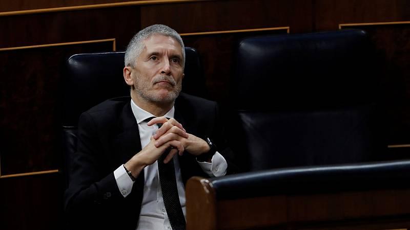 """Marlaska defiende su plan de remodelación en la Guardia Civil: """"No hay arbitrariedad"""""""
