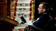 Pablo Echenique: ''No tengo motivos para dudar del ministro de Interior''