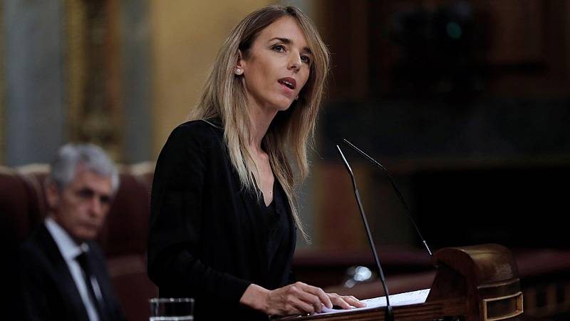 """Cayetana Álvarez de Toledo llama """"hijo de terrorista"""" a Iglesias en una tensa sesión en el Congreso"""