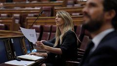 """Álvarez de Toledo llama """"hijo de terrorista"""" a Pablo Iglesias y él le responde que ha cometido """"un delito"""""""