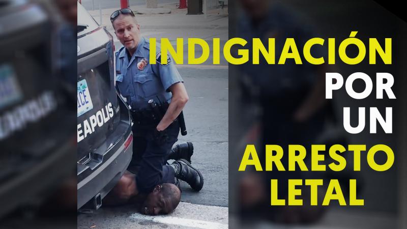 Violencia racial: muere un afroamericano en Mineápolis a manos de la policía
