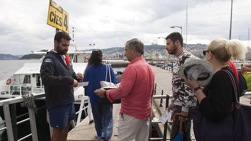 La Fase 2 reactiva el 'autobús del mar' que cruza la ría de Vigo desde hace más de cien años