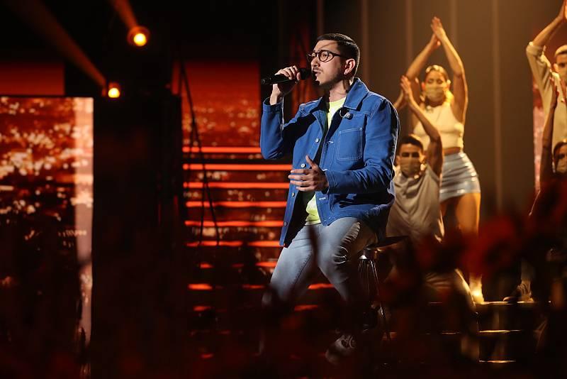 """Bruno canta """"Fugitivos"""", de Bruno Carrasco, en la Gala 11 de Operación Triunfo 2020"""