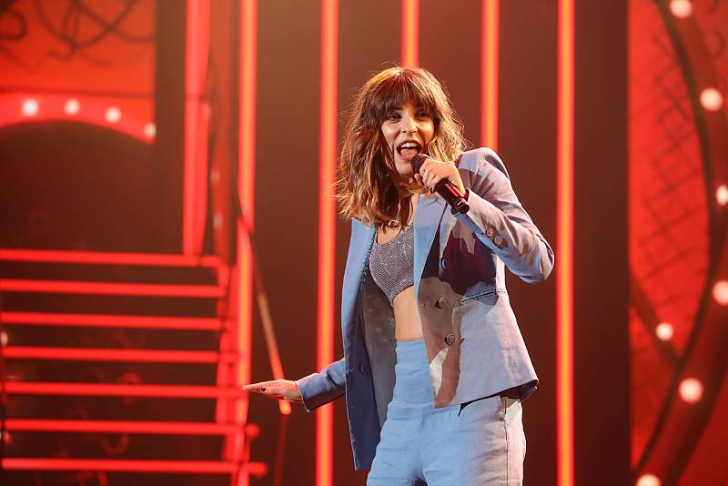 "Maialen canta ""Should I Stay Or Should I Go"", de The Clash (v. Jools Holland), en la Gala 11 de Operación Triunfo 2020"