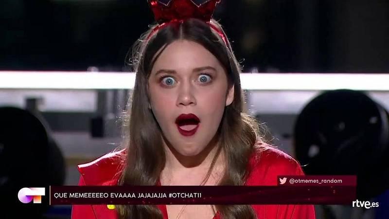 Los mejores momentos de Eva, según los espectadores, en El Chat 11 de Operación Triunfo