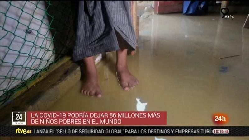 La crisis  por la COVID-19 dispara la pobreza infantil en el mundo