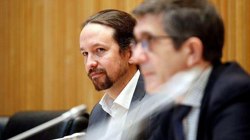"""Iglesias dice que a Vox le """"gustaría dar un golpe de Estado"""" y Espinosa de los Monteros abandona la comisión"""