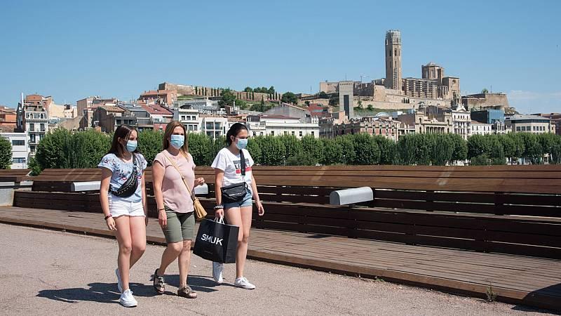 Cuatro focos de rebrote de coronavirus en España en la última semana