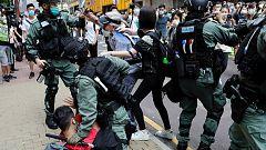 Vuelven las protestas en Hong Kong por la ley de Seguridad Nacional