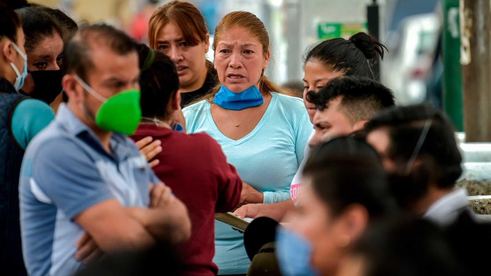 México alcanza una cifra recórd de contagios diarios con casi 3.500 en 24 horas