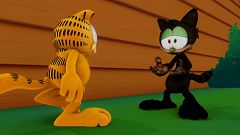 El blues del gato negro (en inglés)