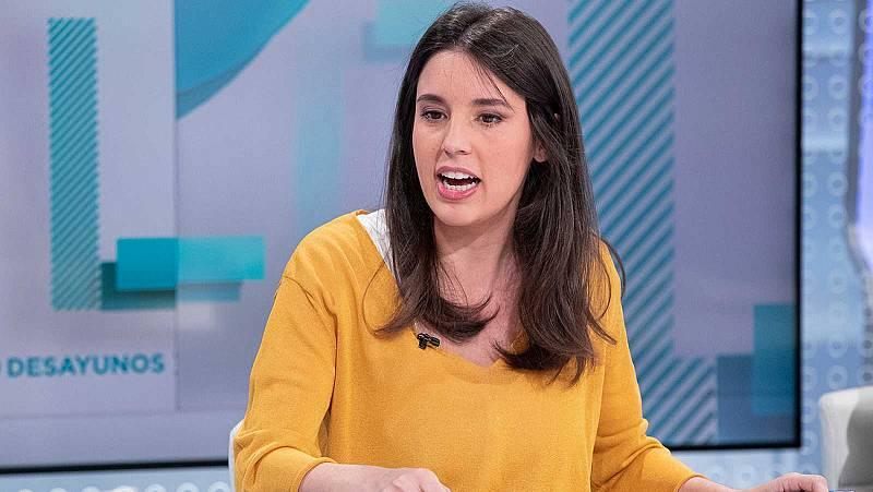 """Montero defiende el """"acto de dignidad decirse las verdades"""": """"Vox llama a la insubordinación del Ejército"""""""