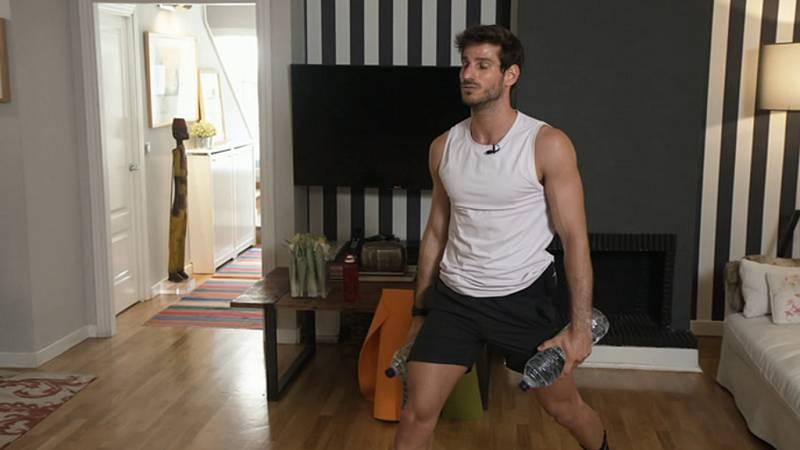 Muévete en casa - Programa 50  (Tábatas, cardio cuerpo entero)- ver ahora