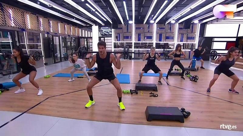 OT 2020 | Clase de 'Body pump' con Cesc Escolà