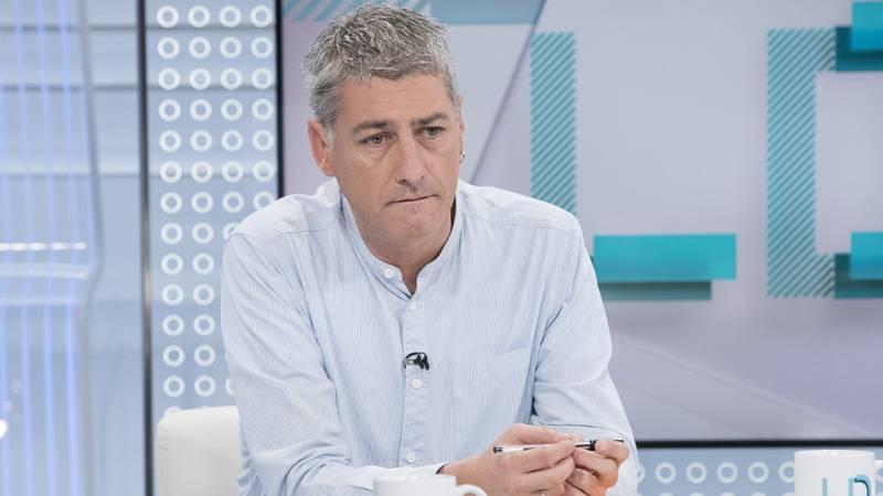 """Oskar Matute (EH Bildu) ve """"una campaña intencionada"""" de la extrema derecha: """"El deber de todo antifranquista es hacerles frente"""""""