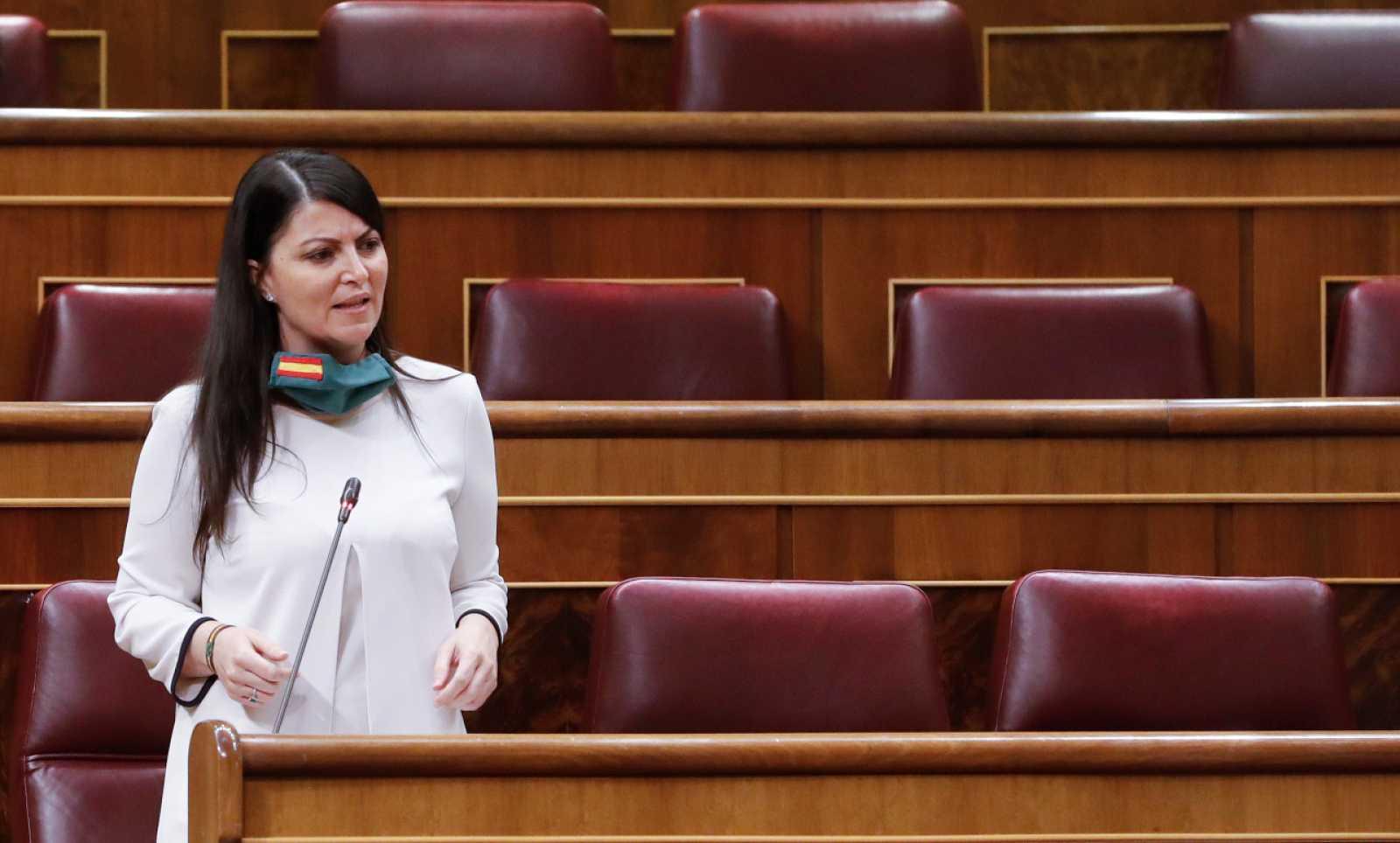 Macarena Olona, diputada de Vox: ''No somos golpistas. En cambio, el señor Pablo Iglesias, es un comunista confeso''