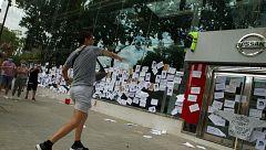 Nueva protesta de los trabajadores contra el cierre de Nissan en Barcelona
