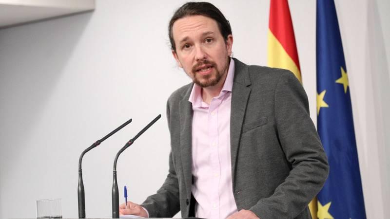 """Pablo Iglesias, sobre el ingreso mínimo vital: """"Es el mayor avance en derechos sociales desde la ley de dependencia de 2006"""""""