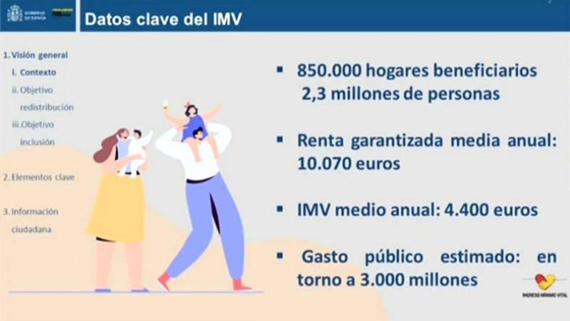 """José Luis Escrivá: """"Vamos a llegar a 850.000 hogares. El gasto público se acercará a los 3.000 millones de euros"""""""