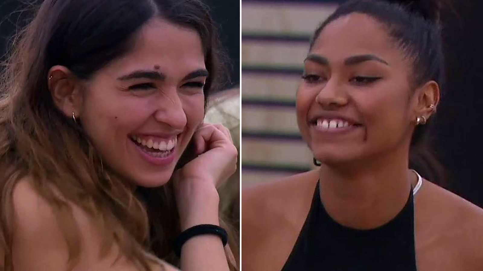 """OT 2020 - Anaju y Nia escuchan por primera vez sus 'singles': """"Me iré"""" y """"8 maravillas"""""""