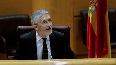 """Marlaska pide """"volver a la cordura"""" y la oposición le critica por la crisis en la Guardia Civil"""