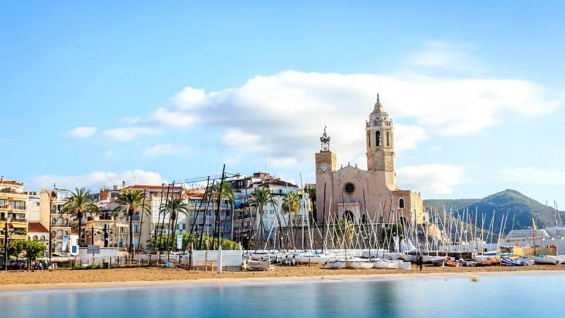 Los negocios hosteleros de Sitges se resienten ante la falta de turistas