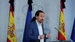 Iglesias mantiene sus acusaciones a Vox, pero dice que se equivocó al hacerlo en la Comisión de Reconstrucción