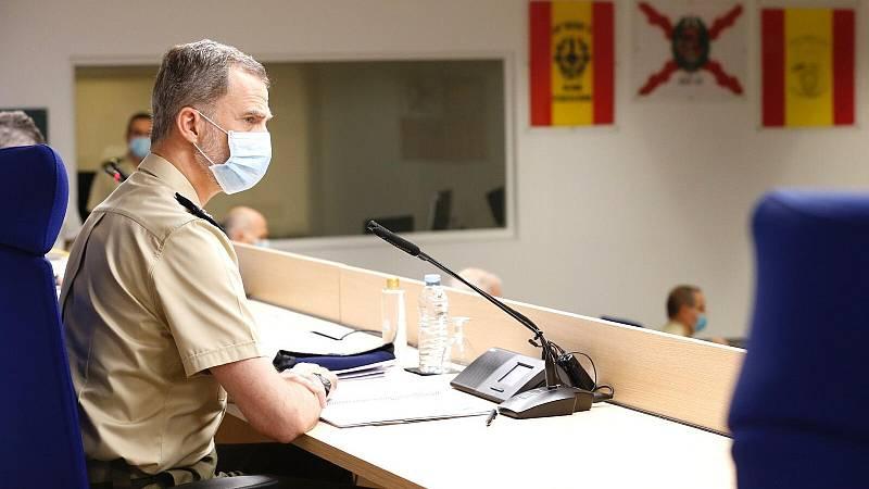 """Felipe VI: """"Estamos superando la crisis sanitaria más importante de nuestra historia reciente"""""""