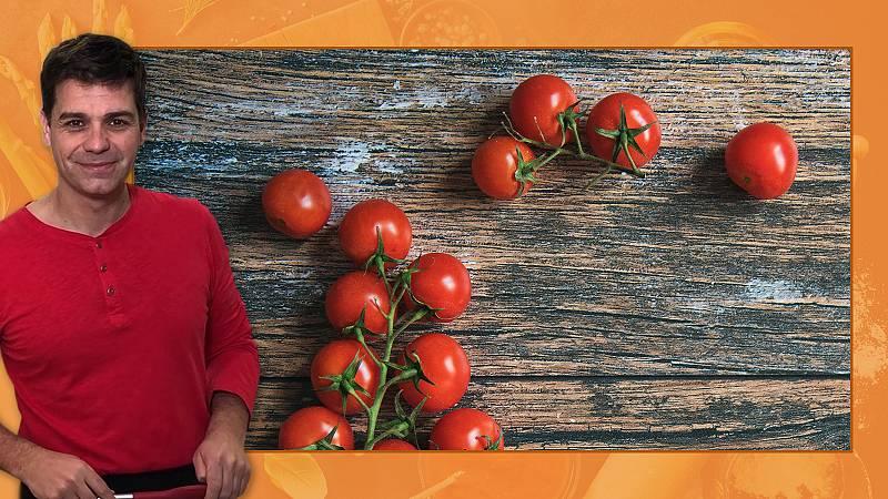 Cómo hacer almíbar de tomates cherry