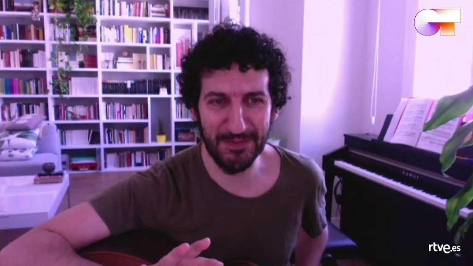 El poeta y músico Marwan ha dado una clase de composición en OT 2020