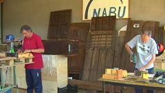 Los peregrinos 'atrapados' en un albergue sacan provecho al confinamiento