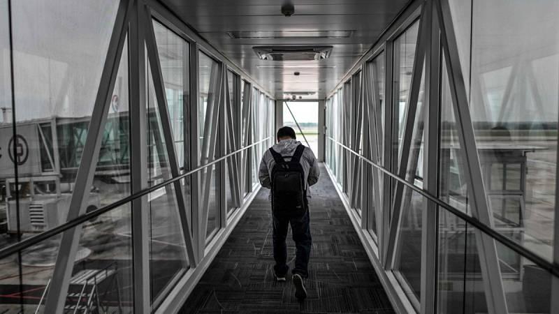Un piloto fotografía cómo se ha vivido el confinamiento por el coronavirus desde las alturas