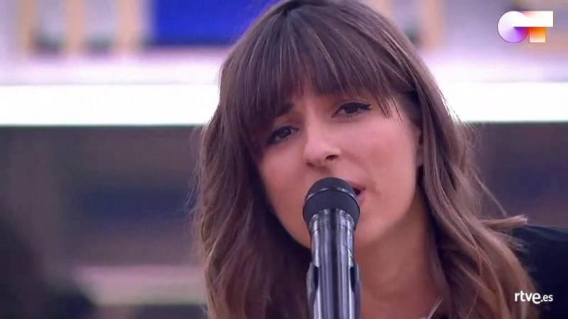 """Maialen canta """"Si te vas"""", de Extremoduro, en el primer pase de micros de la Gala 12 de Operación Triunfo 2020"""
