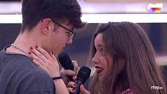 """OT 2020 - Eva y Flavio cantan """"Hey, Baby"""" en el primer pase de micros de la Gala 12 de Operación Triunfo"""
