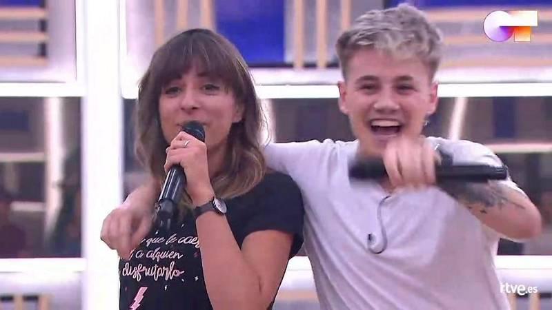 """Maialen y Hugo cantan """"Adiós papá"""", de Los Ronaldos, en el primer pase de micros de la Gala 12 de Operación Triunfo 2020"""