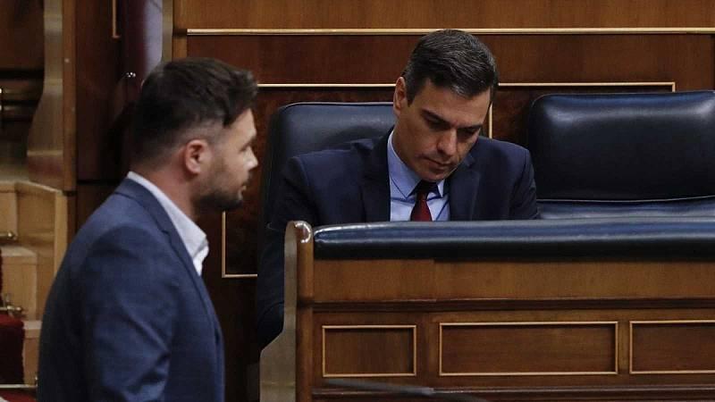 El Gobierno contrará con la abstención de ERC para una nueva prórroga del estado de alarma